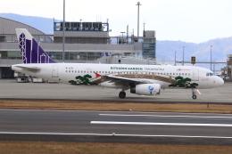 ぽんさんが、高松空港で撮影した香港エクスプレス A320-232の航空フォト(写真)