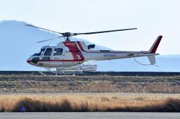 Gambardierさんが、岡南飛行場で撮影した朝日航洋 AS350B3 Ecureuilの航空フォト(写真)