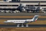 camelliaさんが、羽田空港で撮影したウェルズ・ファーゴ・バンク・ノースウェスト G650 (G-VI)の航空フォト(写真)