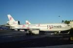 volvoskyさんが、ホノルル国際空港で撮影したジャパンエアチャーター DC-10-40Iの航空フォト(写真)