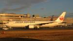 誘喜さんが、羽田空港で撮影した日本航空 767-346の航空フォト(写真)