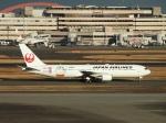 セッキーさんが、羽田空港で撮影した日本航空 767-346/ERの航空フォト(写真)