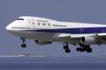planetさんが、那覇空港で撮影した全日空 747SR-81の航空フォト(写真)