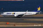 RINA-200さんが、羽田空港で撮影したスカイマーク 737-81Dの航空フォト(写真)