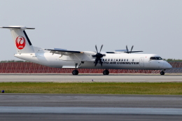 かみじょー。さんが、那覇空港で撮影した琉球エアーコミューター DHC-8-402Q Dash 8 Combiの航空フォト(写真)