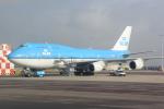 panchiさんが、アムステルダム・スキポール国際空港で撮影したKLMオランダ航空 747-406Mの航空フォト(写真)