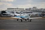 ハピネスさんが、八尾空港で撮影した法人所有 A36 Bonanza 36の航空フォト(写真)
