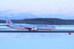 くーぺいさんが、新千歳空港で撮影した大韓航空 737-9B5/ER の航空フォト(写真)