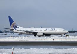 くーぺいさんが、新千歳空港で撮影したユナイテッド航空 737-824の航空フォト(写真)