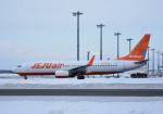 くーぺいさんが、新千歳空港で撮影したチェジュ航空 737-8ASの航空フォト(写真)