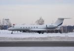 くーぺいさんが、新千歳空港で撮影したWILMINGTON TRUST CO TRUSTEE G-V-SP Gulfstream G550の航空フォト(写真)
