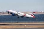 颯平さんが、羽田空港で撮影したブリティッシュ・エアウェイズ 777-236/ERの航空フォト(写真)