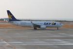 職業旅人さんが、長崎空港で撮影したスカイマーク 737-8HXの航空フォト(写真)