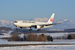 ktaroさんが、旭川空港で撮影した日本航空 767-346の航空フォト(写真)