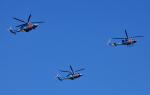 チャーリーマイクさんが、夢の島公園で撮影した警視庁 412EPの航空フォト(写真)