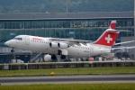 kansai-spotterさんが、チューリッヒ空港で撮影したスイスインターナショナルエアラインズ Avro 146-RJ100の航空フォト(写真)