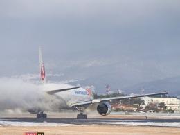 monjiro22001さんが、伊丹空港で撮影した日本航空 777-289の航空フォト(写真)