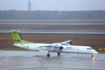 安芸あすかさんが、ベルリン・テーゲル空港で撮影したエア・バルティック DHC-8-402Q Dash 8の航空フォト(写真)