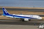 スポット110さんが、羽田空港で撮影した全日空 A320-271Nの航空フォト(写真)