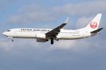 アボさんが、伊丹空港で撮影した日本航空 737-846の航空フォト(写真)
