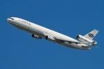 JRF spotterさんが、ジョン・F・ケネディ国際空港で撮影したワールド・エアウェイズ MD-11Fの航空フォト(写真)