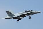 AkiChup0nさんが、茨城空港で撮影したアメリカ海兵隊 F/A-18 Hornetの航空フォト(写真)