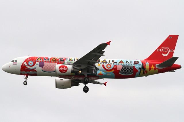 タイ・エアアジア Airbus A320-200 HS-ABD ドンムアン空港  航空フォト   by Itami Spotterさん