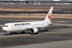 Echo-Kiloさんが、羽田空港で撮影した日本航空 767-346/ERの航空フォト(写真)