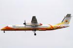 Itami Spotterさんが、ドンムアン空港で撮影したノックエア DHC-8-402Q Dash 8の航空フォト(写真)