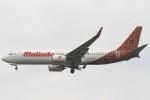 Itami Spotterさんが、ドンムアン空港で撮影したマリンド・エア 737-8GPの航空フォト(写真)