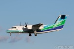 遠森一郎さんが、福岡空港で撮影したオリエンタルエアブリッジ DHC-8-201Q Dash 8の航空フォト(写真)