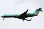 Itami Spotterさんが、ドンムアン空港で撮影したGovernment of Johore G-V-SP Gulfstream G550の航空フォト(写真)