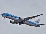 えるあ~るさんが、関西国際空港で撮影したKLMオランダ航空 787-9の航空フォト(写真)