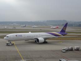 pringlesさんが、チューリッヒ空港で撮影したタイ国際航空 777-3AL/ERの航空フォト(写真)