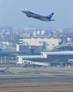 まさとしさんが、福岡空港で撮影したANAウイングス 737-5L9の航空フォト(写真)