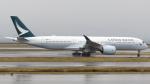 誘喜さんが、関西国際空港で撮影したキャセイパシフィック航空 A350-941XWBの航空フォト(写真)
