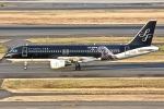 KAW-YGさんが、羽田空港で撮影したスターフライヤー A320-214の航空フォト(写真)