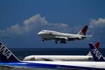nobuさんが、那覇空港で撮影した日本航空 747-446Dの航空フォト(写真)
