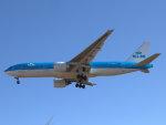 Mame @ TYOさんが、成田国際空港で撮影したKLMオランダ航空 777-206/ERの航空フォト(写真)