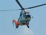 空とぶイルカさんが、群馬ヘリポートで撮影した中日本航空 AS332L1 Super Pumaの航空フォト(写真)