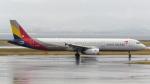 誘喜さんが、関西国際空港で撮影したアシアナ航空 A321-231の航空フォト(写真)
