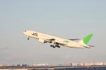 Maestroさんが、羽田空港で撮影した日本航空 777-246の航空フォト(写真)