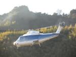 kamonhasiさんが、静岡ヘリポートで撮影した法人所有 S-76Cの航空フォト(写真)