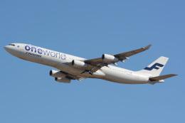 banshee02さんが、成田国際空港で撮影したフィンエアー A340-313Xの航空フォト(写真)