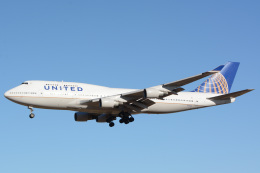 banshee02さんが、成田国際空港で撮影したユナイテッド航空 747-422の航空フォト(写真)