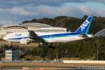 遠森一郎さんが、福岡空港で撮影した全日空 777-281の航空フォト(写真)