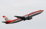 チャーリーマイクさんが、那覇空港で撮影した日本トランスオーシャン航空 737-446の航空フォト(写真)