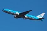 じゃがさんが、成田国際空港で撮影したKLMオランダ航空 777-206/ERの航空フォト(写真)