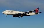 柏の子?さんが、成田国際空港で撮影したデルタ航空 747-451の航空フォト(写真)