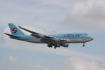 しかばねさんが、スワンナプーム国際空港で撮影した大韓航空 747-4B5の航空フォト(写真)